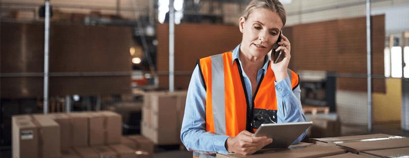 eficiência logística