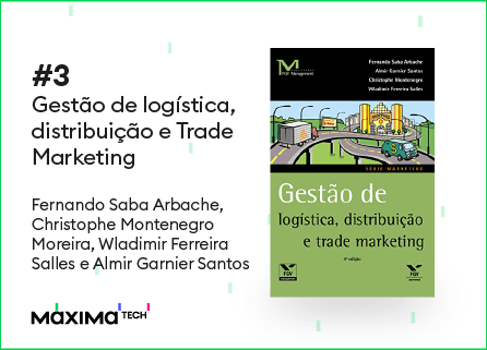 Gestão de logística, distribuição e Trade Marketing - livros de trade marketing