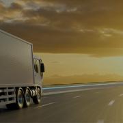 Logística verde: caminhão de entregas
