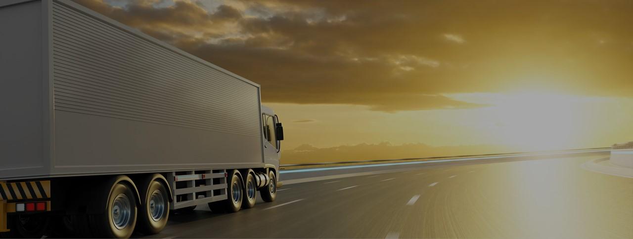 Caminhão de entregas: logística verde